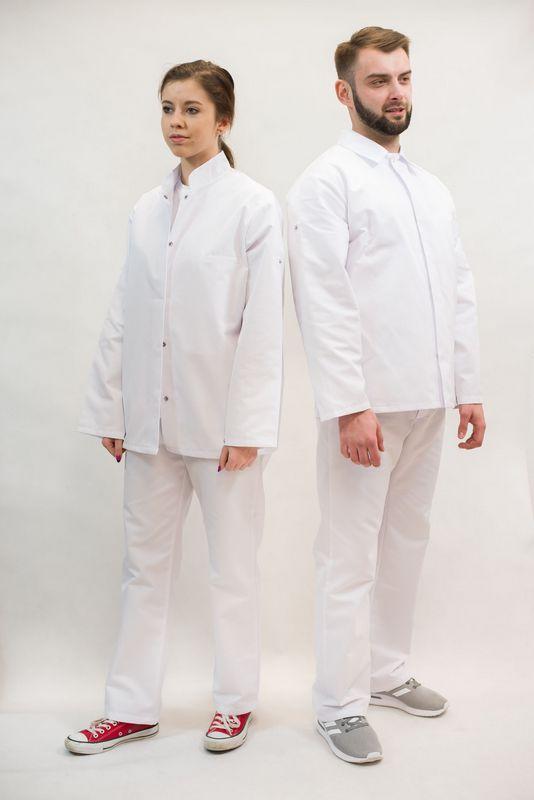 Odzież ochronna biała wzór 2