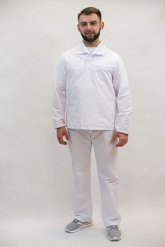 Odzież ochronna biała wzór 4